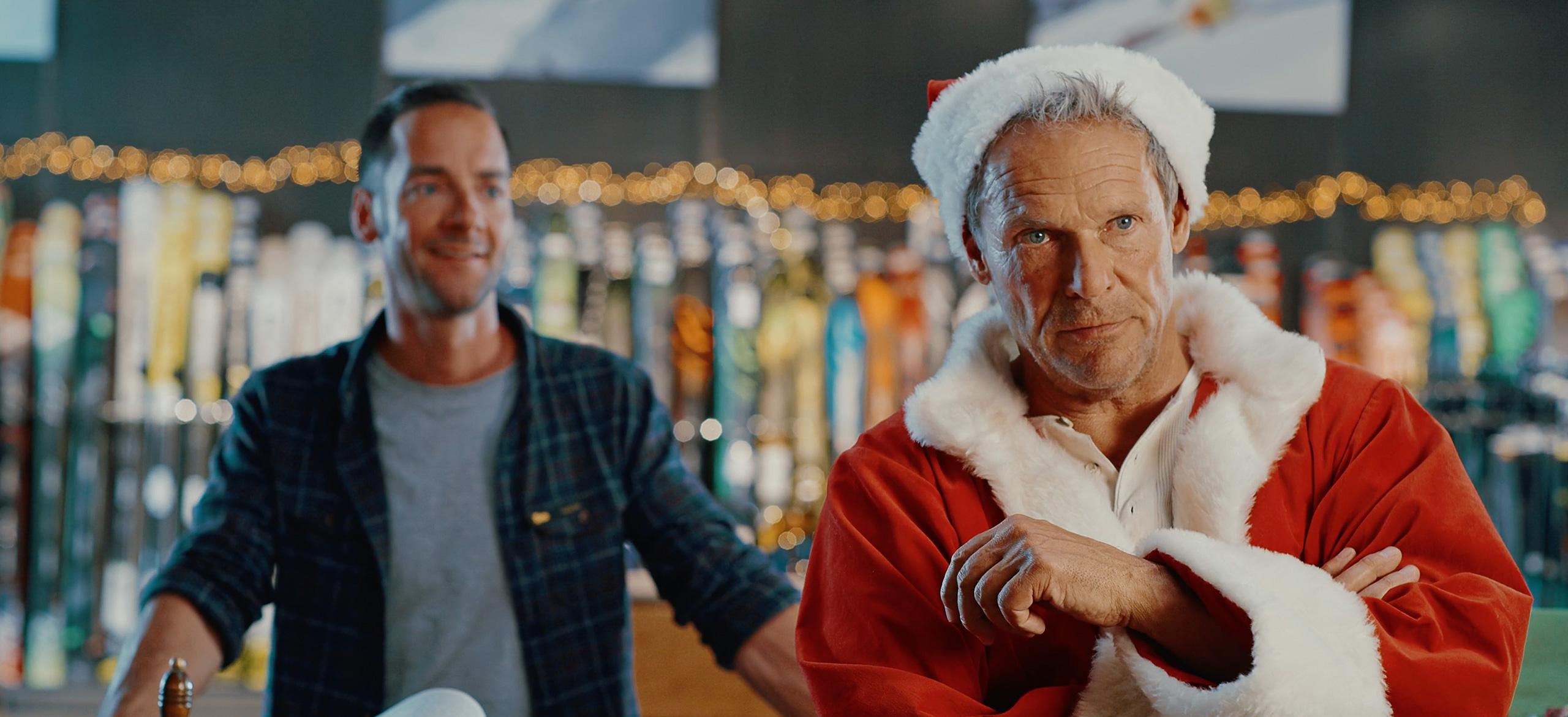 Christian Tramitz als Santa für Sport Bittl